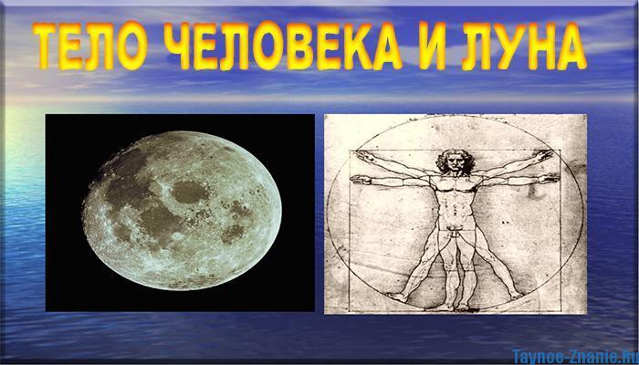 Как луна влияет на тело человека